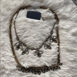 New Double Stone Necklaces
